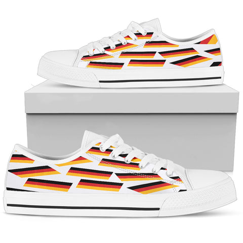 GERMANY'S PRIDE! GERMANY'S FLAGSHOE - Women's Low Top