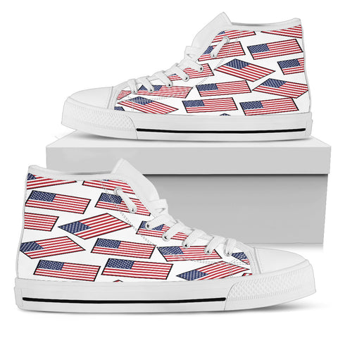 AMERICA'S PRIDE! AMERICA'S FLAGSHOE - Women's High Tops