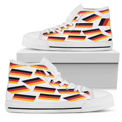 GERMANY'S PRIDE! GERMANY'S FLAGSHOE - Women's High Top