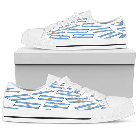 ARGENTINA'S PRIDE! Argentina's FLAGSHOE - Men's Low Top