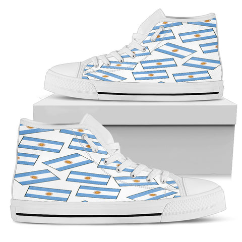 ARGENTINA'S PRIDE! Argentina's FLAGSHOE - Women's High Tops