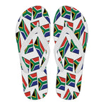 SOUTH AFRICA'S PRIDE! SOUTH AFRICA'S FLAGSHOE - Women's Flip Flops