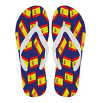 SPAIN'S PRIDE! SPAIN'S FLAGSHOE - Men's Flip Flops