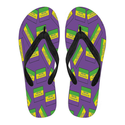 ALABAMA'S MARDI GRAS PRIDE! THE OG SINCE 1703! Women's Flip Flops