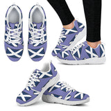 SCOTLAND'S PRIDE! SCOTLAND'S FLAGSHOE - Women's Athletic Sneaker