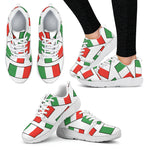 ITALY'S PRIDE! ITALY'S FLAGSHOE - Women's Athletic Sneaker