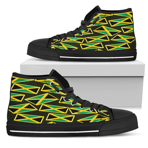 JAMAICA'S PRIDE! JAMAICA'S FLAGSHOE - Men's High Top