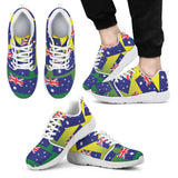 AUSTRALIA'S PRIDE! AUSTRALIA'S FLAGSHOE - Men's Athletic Sneaker