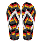 GERMANY'S PRIDE! GERMANY'S FLAGSHOE - Women's Flip Flops
