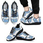 GREECE'S PRIDE! GREECE'S FLAGSHOE - Men's Athletic Sneaker