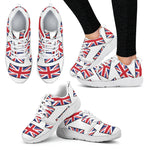 GREAT BRITAIN'S PRIDE! GREAT BRITAIN'S FLAGSHOE - Women's Athletic Sneaker