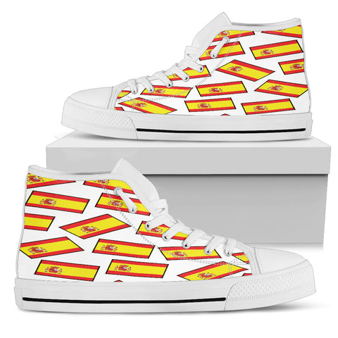 SPAIN'S PRIDE! SPAIN'S FLAGSHOE - Women's High Top