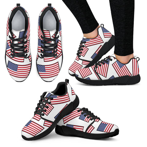 AMERICA'S PRIDE! AMERICA'S FLAGSHOE - Women's Athletic Sneakers