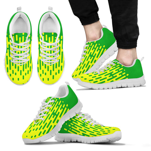 AUSTRALIA'S PRIDE! AUSTRALIA'S FLAGSHOE GREEN AND GOLD - Men's Sneaker