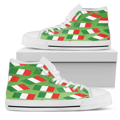 ITALY'S PRIDE! ITALY'S FLAGSHOE - Men's High Top