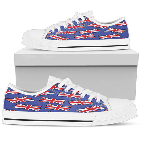GREAT BRITAIN'S PRIDE! GREAT BRITAIN'S FLAGSHOE - Women's Low Top