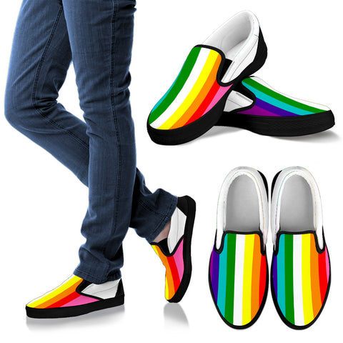 RAINBOW PRIDE! LBGT FLAGSHOE - Slip On