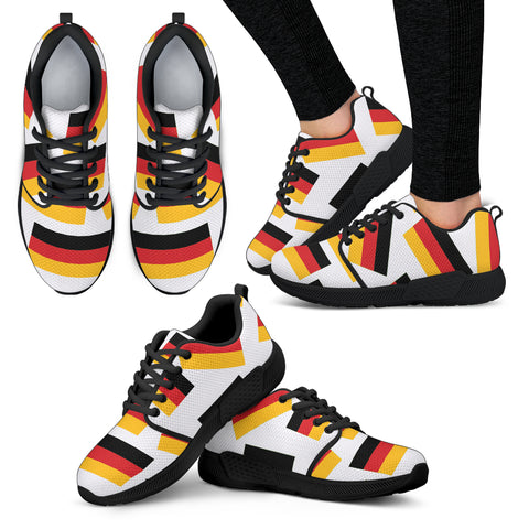 GERMANY'S PRIDE! GERMANY'S FLAGSHOE - Women's Athletic Sneaker