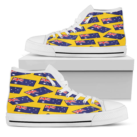 AUSTRALIA'S PRIDE! AUSTRALIA'S FLAGSHOE - Women's High Top