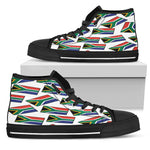 SOUTH AFRICA'S PRIDE! SOUTH AFRICA'S FLAGSHOE - Men's High Top
