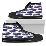 NEW ZEALAND'S PRIDE! NEW ZEALAND'S FLAGSHOE - Men's High Top