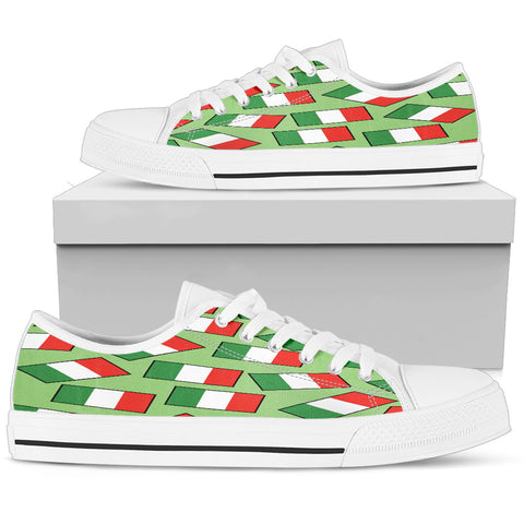 ITALY'S PRIDE! ITALY'S FLAGSHOE - Men's Low Top