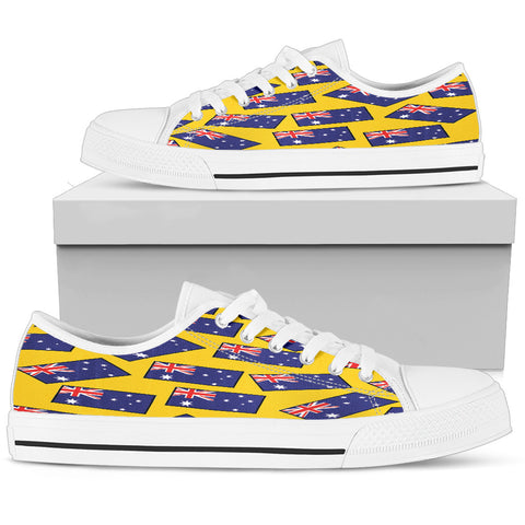 AUSTRALIA'S PRIDE! AUSTRALIA'S FLAGSHOE - Men's Low Top