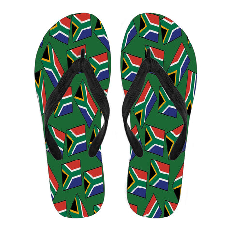 SOUTH AFRICA'S PRIDE! SOUTH AFRICA'S FLAGSHOE - Men's Flip Flops