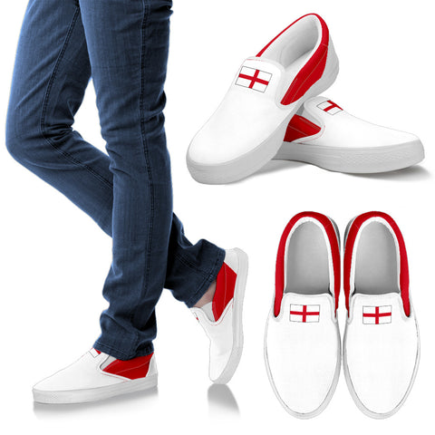 ENGLAND'S PRIDE! ENGLAND'S FLAGSHOE - Men's Slip On