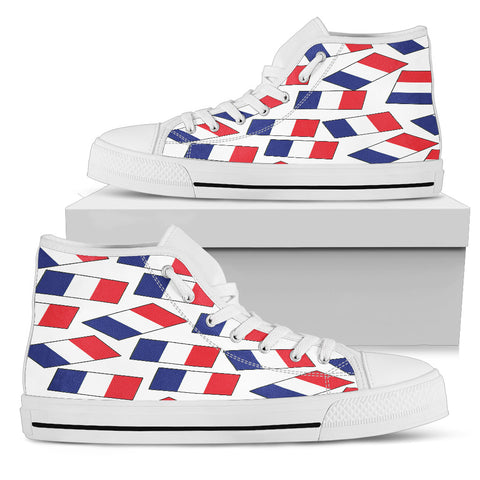 FRANCE'S PRIDE! FRANCE'S FLAGSHOE - Women's High Top
