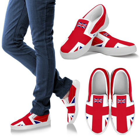 BRITAIN'S PRIDE! BRITAIN'S FLAGSHOE - Men's Slip On