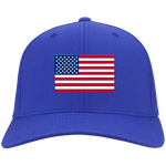 AMERICA'S PRIDE! SIGNIE BASEBALL CAP - Embroidered Flag Cotton Twill