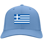 GREECE'S PRIDE! SIGNIE BASEBALL CAP - Embroidered Design Cotton Twill