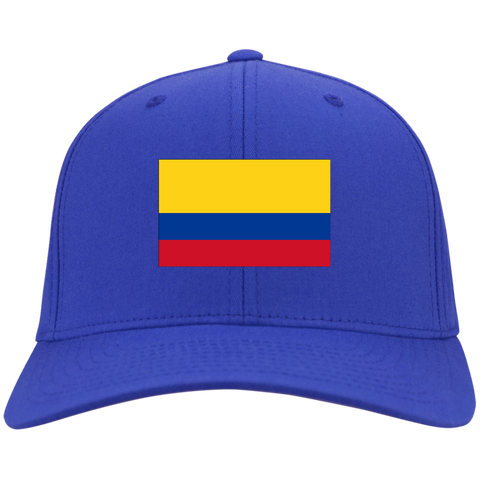 COLOMBIA'S PRIDE! SIGNIE BASEBALL CAP - Embroidered Design Cotton Twill