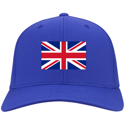 BRITAIN'S PRIDE! SIGNIE BASEBALL CAP - Embroidered Flag Cotton Twill