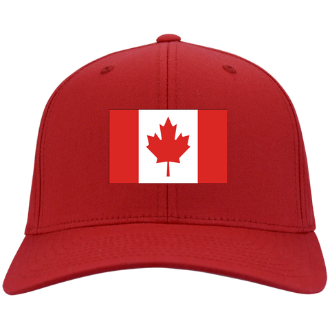 CANADA'S PRIDE! SIGNIE BASEBALL CAP - Embroidered Design Cotton Twill