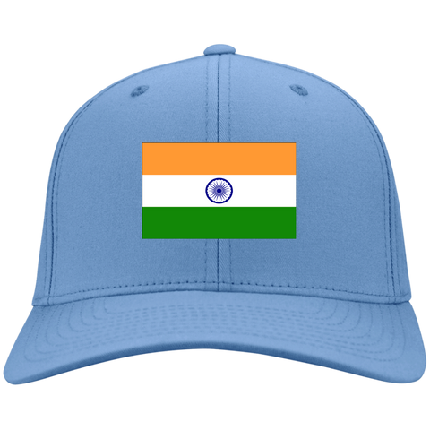 INDIA'S PRIDE! SIGNIE BASEBALL CAP - Embroidered Design Cotton Twill