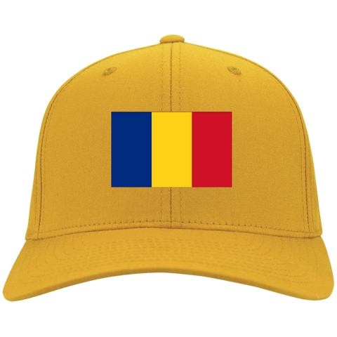ROMANIA'S PRIDE! SIGNIE BASEBALL CAP - Embroidered Flag Cotton Twill