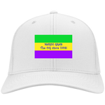 MARDI GRAS! ALABAMA'S PRIDE! SIGNIE BASEBALL CAP - Embroidered Flag Cotton Twill