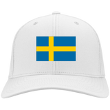 SWEDEN'S PRIDE! SIGNIE BASEBALL CAP - Embroidered Flag Cotton Twill