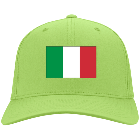 ITALY'S PRIDE! SIGNIE BASEBALL CAP - Embroidered Design Cotton Twill