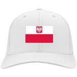 POLAND'S PRIDE! SIGNIE BASEBALL CAP - Embroidered Flag Cotton Twill
