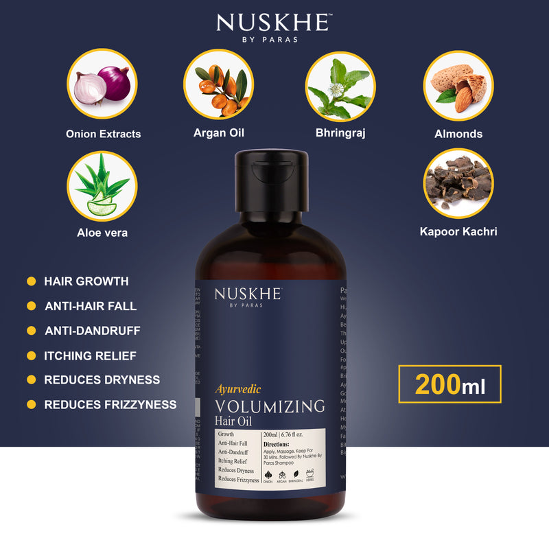 Nuskhe by Paras Anti-Hair Fall Combo