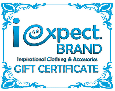 iexpect Gift Certificate