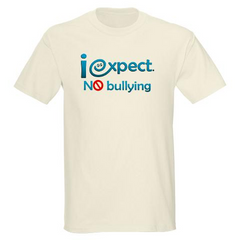 iexpect NO bullying Mens Organic Cotton Tee