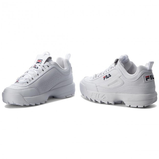 FILA DISRUPTOR LOW WOMEN WHITE
