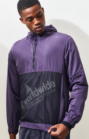 HUF WIRE FRAME 2.0 ANORAK PURPLE