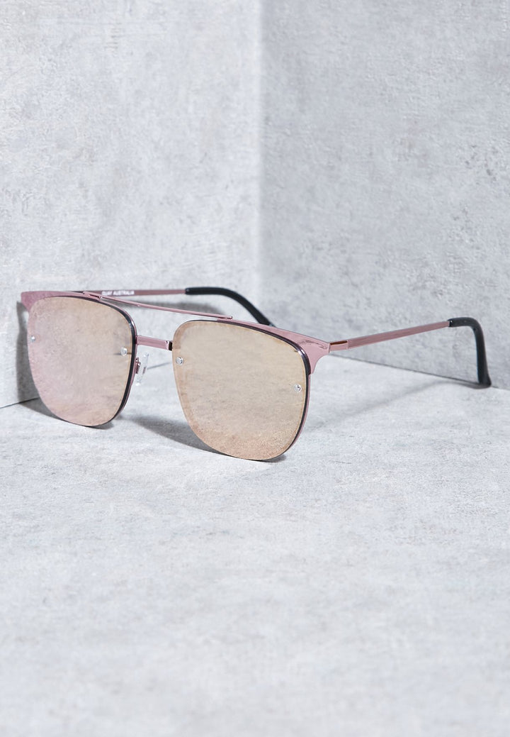 QUAY AUSTRALIA GAFAS DE SOL PRIVATE EYES ROSA