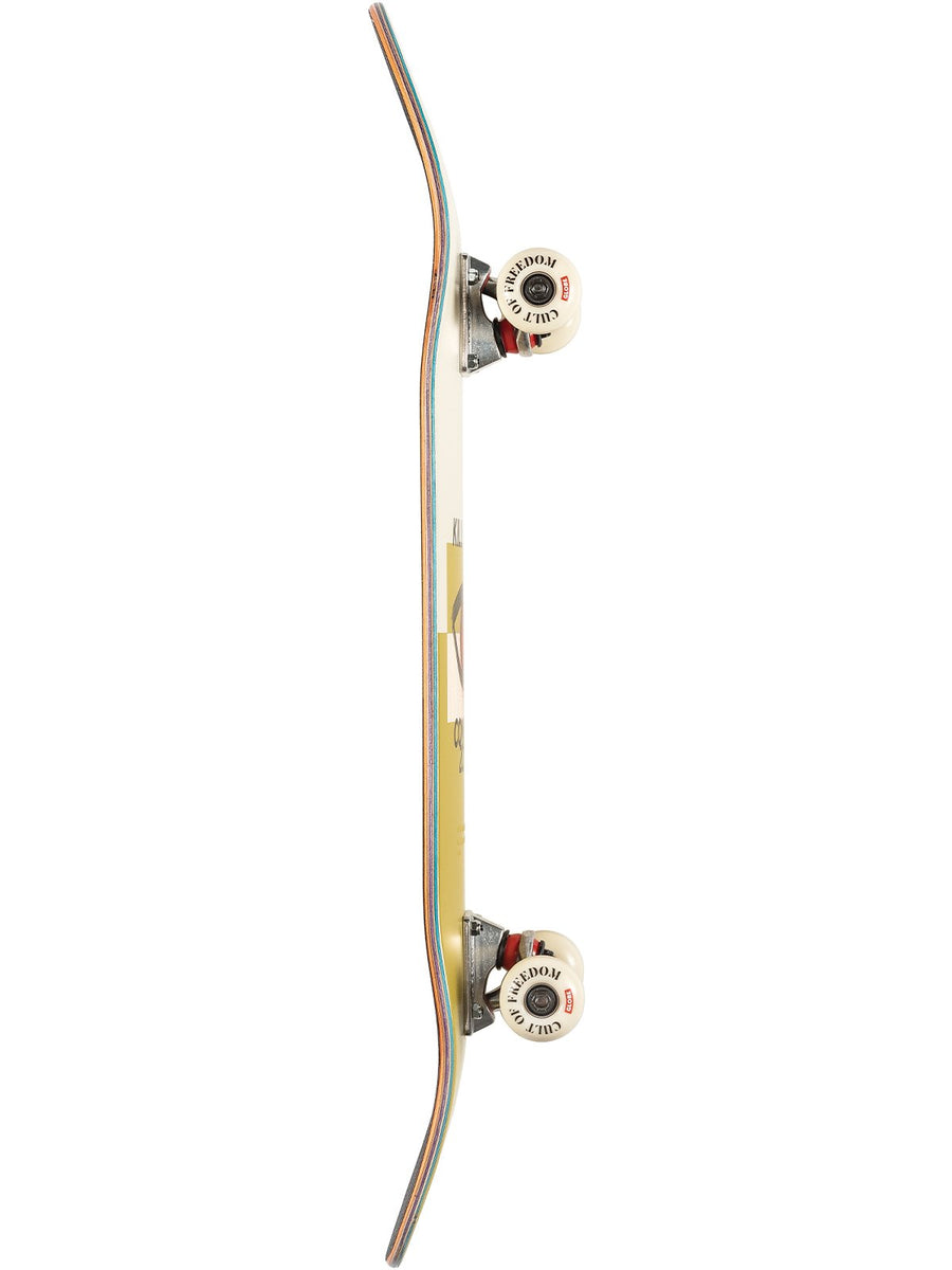 "GLOBE TABLA DE SKATE G1 8.125"" COMFORT ZONE COF CURRY"