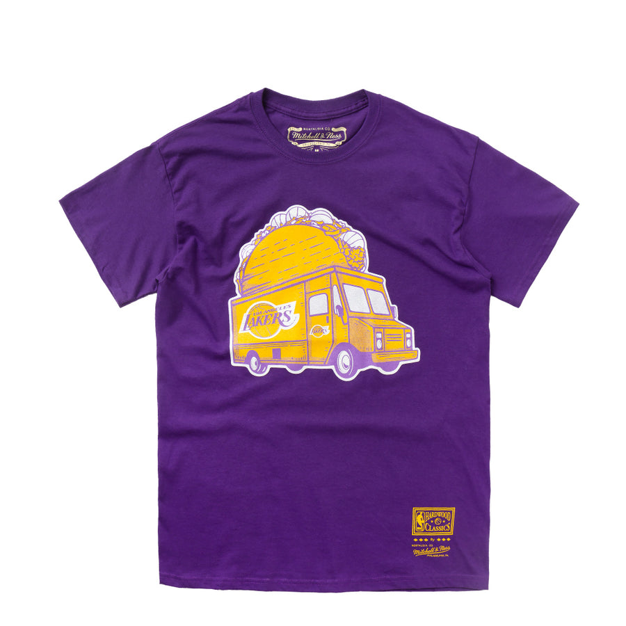 MITCHELL & NESS CAMISETA TACA TRUCK LAKERS MORADA